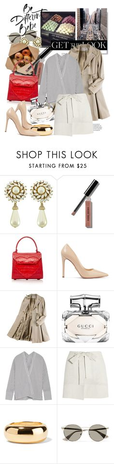 """The bag is the keypoint"" by mychicfashiondiary ❤ liked on Polyvore featuring Ciner, Prada, Bobbi Brown Cosmetics, Nancy Gonzalez, Paul Frank, Opening Ceremony, Gucci, Nili Lotan, Étoile Isabel Marant and Kenneth Jay Lane"