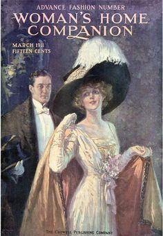 Vintage Magazine Cover - March 1911