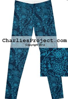 Blue Batik Paisley leggings. Just like Lularoe with the yoga waist band, buttery soft fabric, and limited prints but no searching! They are all here! And cheaper with pre-order!