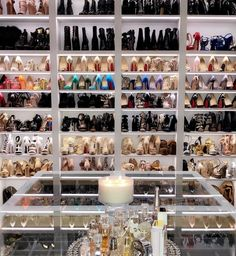 10 Luxury Walk-in Closet Design Ideas That Will Make Your Jaw Drop Walk In Closet Design, Closet Designs, Shoe Room, Shoe Closet, Dream Closets, Dream Rooms, Beautiful Closets, Master Bedroom Closet, Luxury Closet