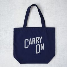 Market Tote Bag - Carry On