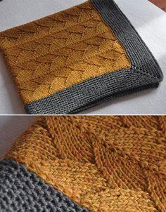 Brickstreet Blanket - Knitting Pattern - Knitting for beginners,Knitting patterns,Knitting projects,Knitting cowl,Knitting blanket Knitting Stitches, Knitting Patterns Free, Knitting Yarn, Free Knitting, Knitting Blanket Patterns, Finger Knitting, Scarf Patterns, Knitting Machine, Knit Stitches