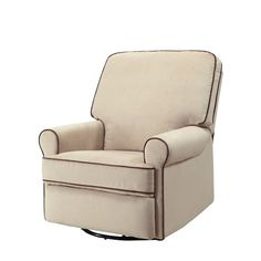 Add style to your baby's nursery with this Pulaski Birch Hill Stella swivel glider recliner. Glider Recliner Chair, Swivel Glider, Stylish Recliners, Bedroom Chair, Master Bedroom, Gliders, Kids Furniture, Armchair, Living Room
