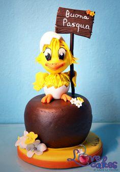 The chick of Easter, Il pulcino di Pasqua  Cake by LoVeCakes