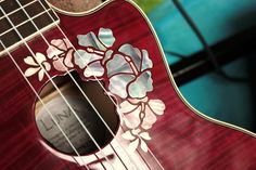 ukulele inlay gorgeous