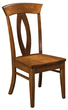 Amish Brookfield Napolean Dining Chair The contemporary shape of the Brookfield Napoleon will steal the show in your dining room. Wooden Dining Room Chairs, Wayfair Living Room Chairs, Table And Chairs, Wood Chair Design, Furniture Design, Home Decor, Counter Stool, Trendy Hairstyles, Contemporary Design