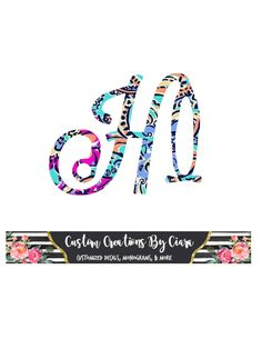 Pattern Stethoscope Decal Letter  -  Lilly Stethoscope Initial Decal - Nursing Decal - Medical Decal - RN Decal - Laptop Decal -  Lilly by CustomCreationsByCP on Etsy