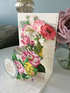 A personal favorite from my Etsy shop https://www.etsy.com/listing/228918386/handmade-pop-up-3d-get-well-card-5x7