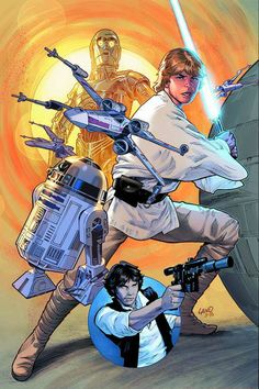 Marvel Star Wars #1, cover variant by Greg Land