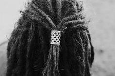 Large Dreadlock Bead Dread Tie. Viking Style Hair Beads. Dreadlock Hairstyles.