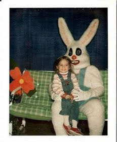 I didn't realize the Easter Bunny wore lipstick.