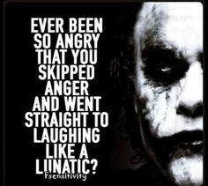 The Joker is straight up bad ass