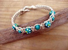 Macreme Hemp Bracelet by GiftzandGreetingz on Etsy, $10.00