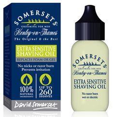 Somersets Extra Sensitive Shaving Oil - 35ml