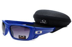 Dealextreme Oakley Fuel Cell Sunglasses Blue Frame Black Lens