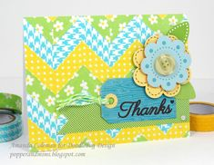 Doodlebug Design Inc Blog: Washi Tape Week: Tutorial Tuesday x Two