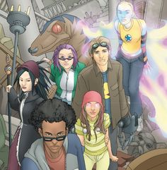 7 Best New Teen Superheroes (these are the Runaways)
