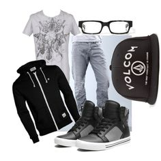 """Boyfriend Clothing 6"" by dropdead on Polyvore"