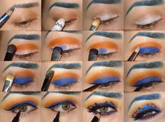 #Jeweled #Eye #Makeup #Tutorial #Spring #Colorful