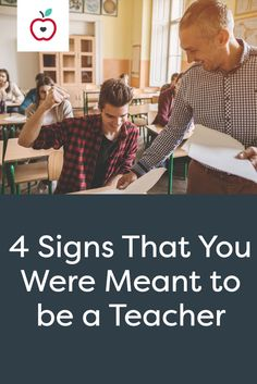 So you're a teacher (or you're thinking about becoming one), but you're not so sure that you chose the right career path. If you happen to possess the following traits, you can rest assured that you're heading in the right direction.
