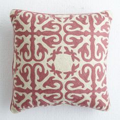Morocco Pillow - Rose | Pillows & Cushions - Wisteria $49.00