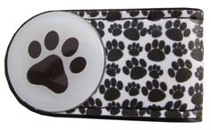 Check out our Paw Prints (Black & White) BOG Golf Crocodile Clip with Golf Ball Marker! Find the best golf gear and accessories at Lori's Golf Shoppe. Click through now to see this!
