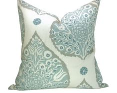 Galbraith & Paul Fern pillow cover in Wave on by sparkmodern