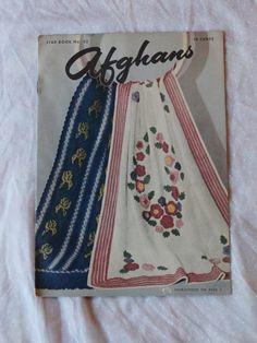 Afghans Star Book No. 52 copyright 1947 craft book.