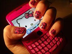 Hello Kitty Wallpaper,, pink Blackberry