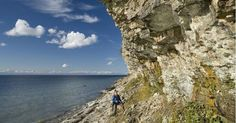 The limestone cliff is one of the natural landscapes most characteristic of northern Estonia; http://ift.tt/2if3Qn1