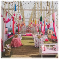 13 Trending and Showstopper Ideas For Wedding Ceiling Decorations 13 Trending and Showstopper Ideas For Wedding Ceiling Decorations Wedding Ceiling Decorations, Umbrella Decorations, Stage Decorations, Indian Wedding Decorations, Diwali Decorations, Flower Decorations, Decoration Party, Indian Weddings, Mehendi Decor Ideas