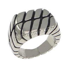 Edelstahl Fingerring, 15mm, Größe:9 http://www.perlinshop.com/Produkt/Edelstahl-Fingerring_p176886.html?Utm_rid=78048