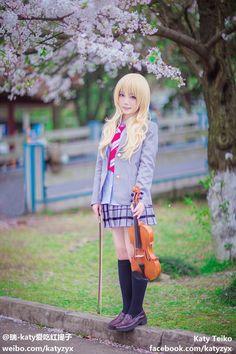 Kaori Miyazono (HD) - Katy Teiko Kaori Miyazono Cosplay Photo - Cure WorldCosplay