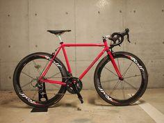 Kinfolk handcrafted by Fukuda of Raizin works #bicycle