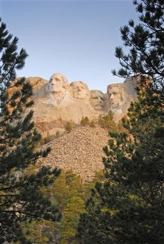 Mount Rushmore National Memorial in South Dakota's Black Hills