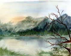 easy watercolor paintings - Google Search