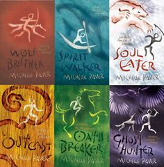 The Chronicles of Ancient Darkness (Wolf Brother|Spirit Walker|Soul Eater|Outcast|Oath Breaker|Ghost Hunter) by Michelle Paver