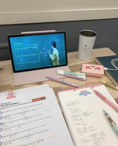 Aesthetic Korea, Aesthetic Rooms, College Motivation, Study Motivation, Study Desk, Study Space, Study Corner, Desk Inspiration, Studyblr