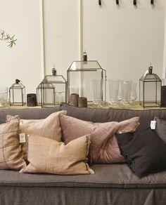 Darf für die gemütliche Stimmung im Wohnzimmer nicht fehlen - Laternen House Rechteck von TineKHome!