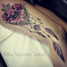 Miss Voodoo Tattoo