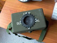 Army Surplus iPod Amp