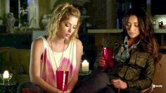 Pretty Little Liars Season 3 Episode 1  - Emily and Hanna