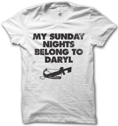 my sunday nights belong to daryl!