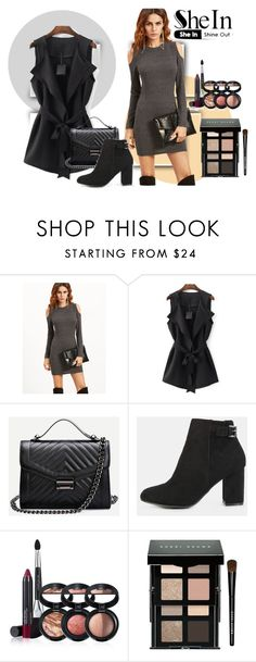 """""""Untitled #446"""" by anna-maria-vi ❤ liked on Polyvore featuring WithChic, Laura Geller and Bobbi Brown Cosmetics"""