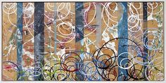Matt Durant, Portions #23 (Fragment)  Mix Media, 68x34, 2012