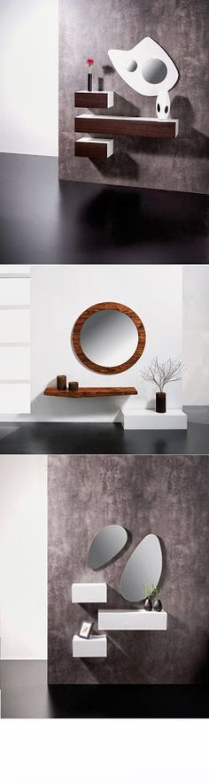 Bathroom Vanity Chair, Wall Shelves Design, Wall Cladding, House Entrance, New Home Designs, New Living Room, Architect Design, Living Room Designs, Home Accessories