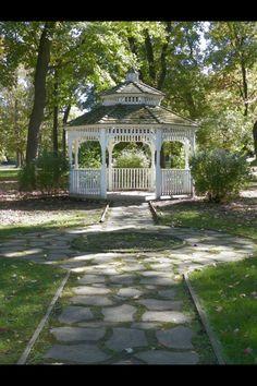 Gazebo at Central Park, Ashland, Kentucky
