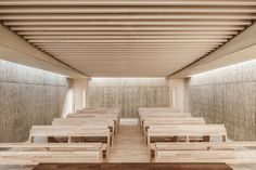 Image 2 of 14 from gallery of Roser Chapel / Erithacus arquitectos + Guillermo Maluenda. Photograph by Joan Guillamat