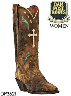 Dan Post Anthem Vintage Leather DP3621 from Sterling Leather. #cowboyboots #danpost #westernstyle