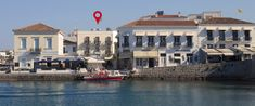 Alexandris Hotel in Spetses Island | Newly Renovated!! Central Small Hotel just a step away by the Sea Double Glazed Window, Sea, Island, Mansions, House Styles, Nature, Travel, Beautiful, Mansion Houses